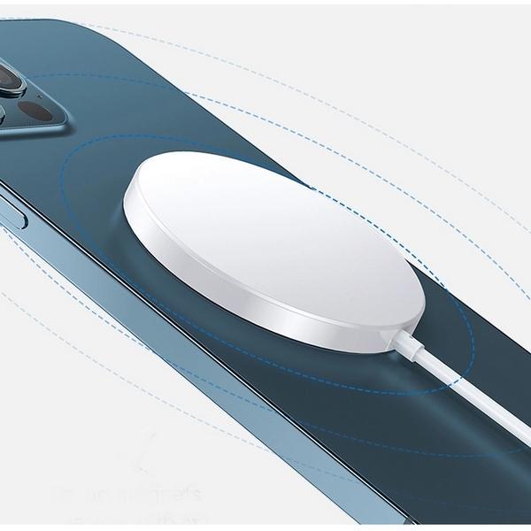 iphone12 ワイヤレス充電器 マグネット 磁石 PD 急速充電 15W Qi急速充電 iPhone アンドロイド iphone12pro iphon12promax iPhone11 (MagSafeマグセーフ類似品)|sabb|09