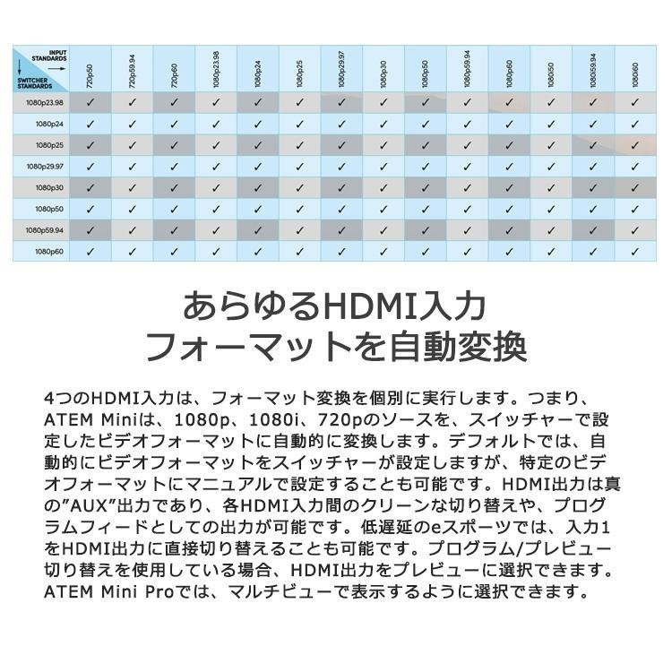 【国内正規品】Blackmagic Design ATEM Mini ライブプロダクションスイッチャー SWATEMMINI ライブ配信 HDMI 4台のカメラ接続 YouTube Live Facebook Twitch|sabb|11