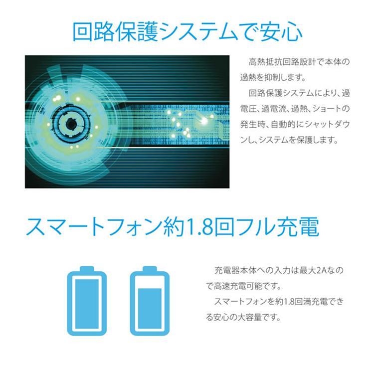 Lazos Type-C対応 5000mAh 高速充電リチウムポリマーモバイルバッテリー PSE取得済み|sabb|05