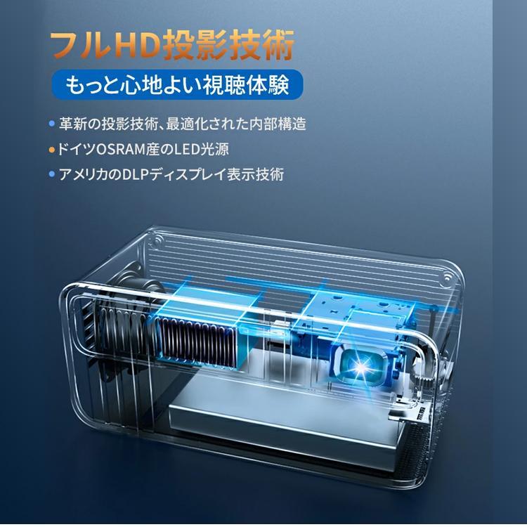 2020年最新版 モバイル プロジェクター 小型 VANKYO コンパクト Bluetooth スマホ 接続 WiFi HDMI DVD モバイルプロジェクター iPhone android 映画 1年保証 sabb 12