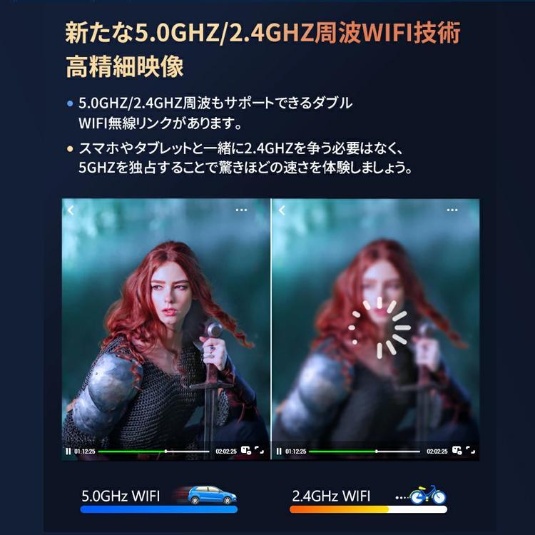 2020年最新版 モバイル プロジェクター 小型 VANKYO コンパクト Bluetooth スマホ 接続 WiFi HDMI DVD モバイルプロジェクター iPhone android 映画 1年保証 sabb 18