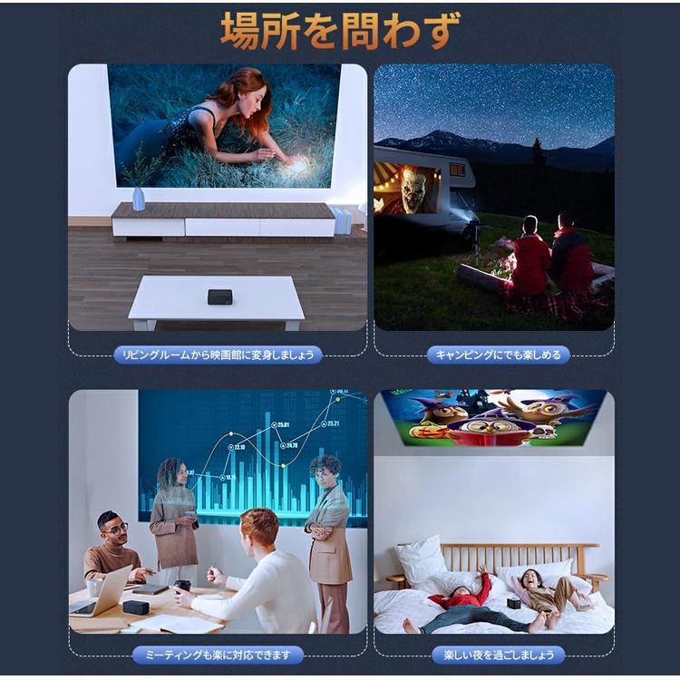2020年最新版 モバイル プロジェクター 小型 VANKYO コンパクト Bluetooth スマホ 接続 WiFi HDMI DVD モバイルプロジェクター iPhone android 映画 1年保証 sabb 21