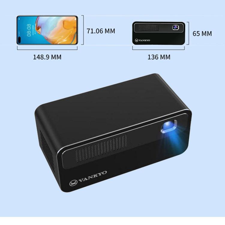 2020年最新版 モバイル プロジェクター 小型 VANKYO コンパクト Bluetooth スマホ 接続 WiFi HDMI DVD モバイルプロジェクター iPhone android 映画 1年保証 sabb 09