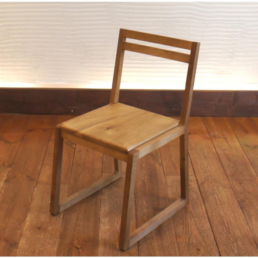 Loop Chair w ダイニングチェア ナラ無垢材|sabisabi-web