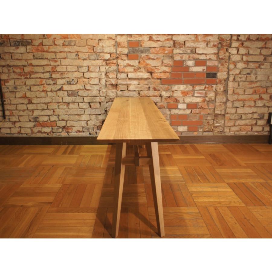 Living Table SA 幅144cm 選べる奥行2サイズ リビングテーブル ソファテーブル ナラ無垢材|sabisabi-web|04