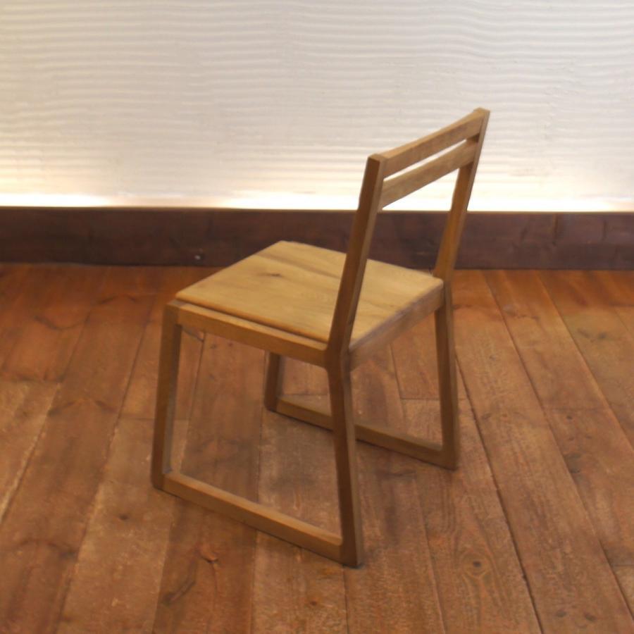Loop Chair w ダイニングチェア ナラ無垢材|sabisabi-web|04