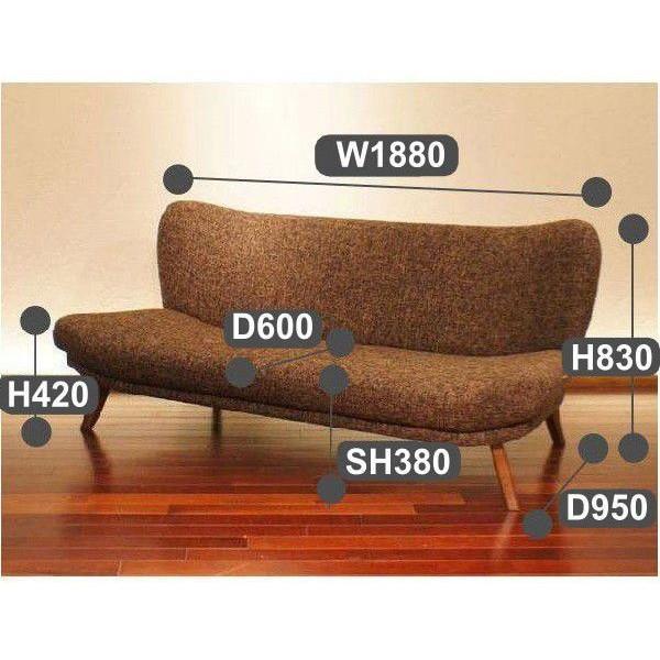Capa Sofa 3人掛けソファ SabiSabiモデル 深いタイプ|sabisabi-web|04