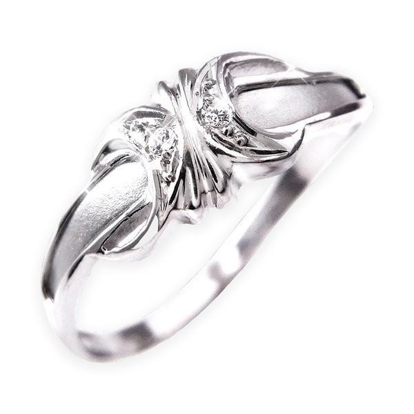 大人気新作 ダイヤリング 指輪エレガントリング 7号, ノトガワチョウ 8593db7c