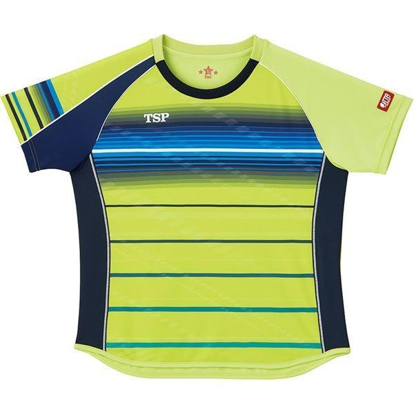 VICTAS TSP 卓球アパレル ゲームシャツ レディスクラールシャツ 女子用 032416 ライム 3XL