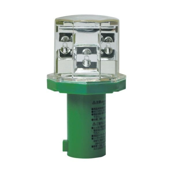 害獣対策 LEDライト 〔太陽光充電〕 自動点灯·自動消灯 防雨構造 獣よけ アニマルパンチ 〔50個セット〕