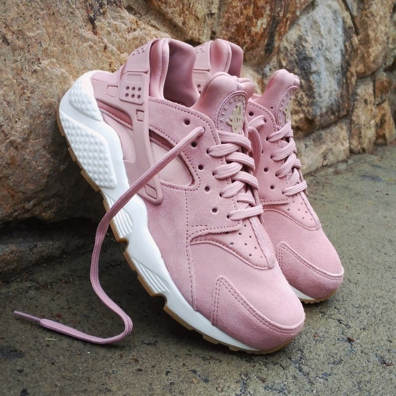 Nike Wmns Air Huarache Run SD | Pink | Sneakers | AA0524 600