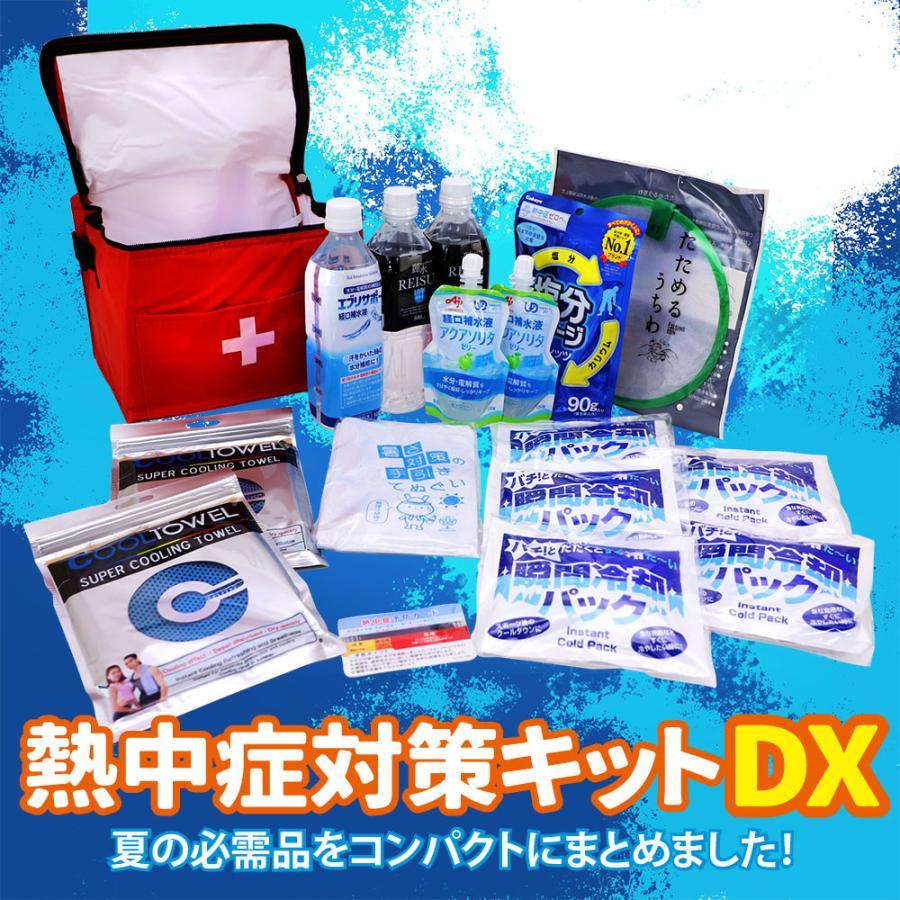 熱中症対策キットDX 経口補水液/涼感タオル/水分補給 safety-japan 02