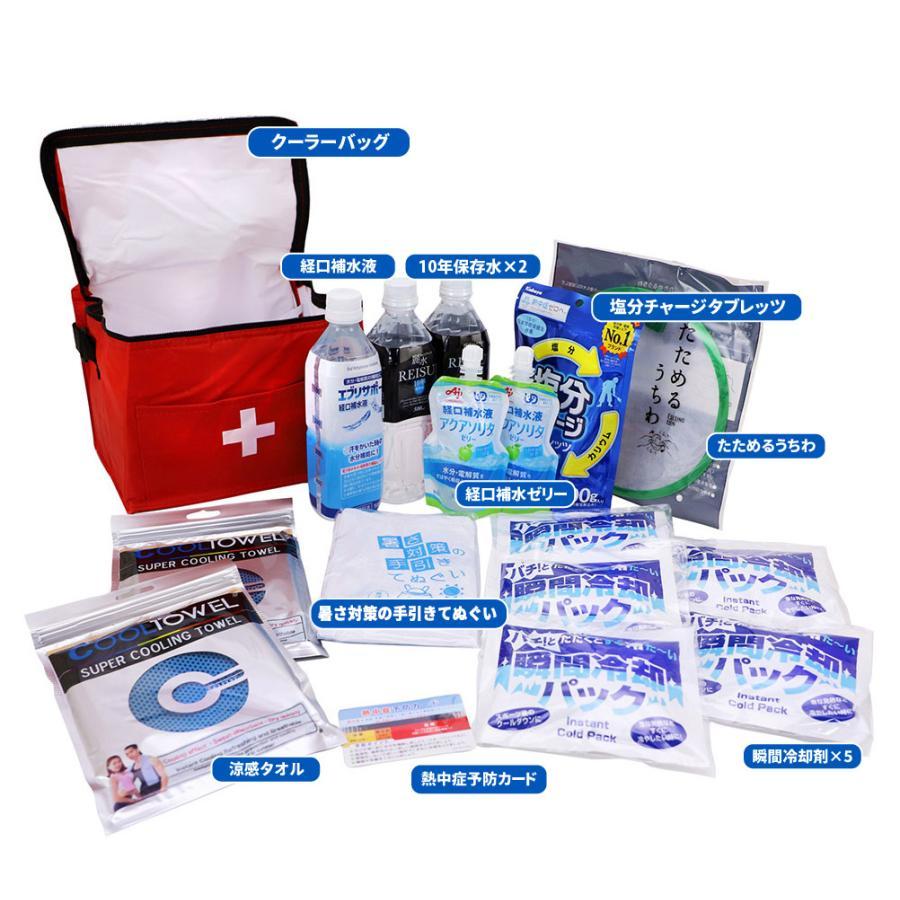 熱中症対策キットDX 経口補水液/涼感タオル/水分補給 safety-japan 03