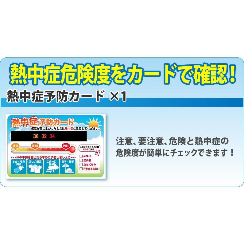熱中症対策キットDX 経口補水液/涼感タオル/水分補給 safety-japan 09