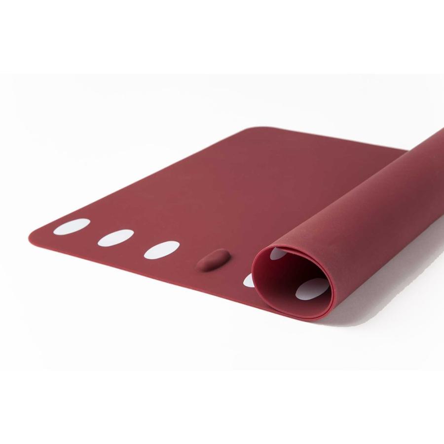人気ギフト 2021 箸置きランチョンマット 2枚セット シリコン製で、お手入れラクラク。食洗機で洗え畳んでもシワになりません。|safety-toilet|07