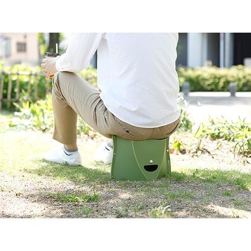 折りたたみ椅子 簡単組み立て PATATTO 180 座面が柔らかく組み立てやすくなって新登場 ハイキング キャンプ  運動会 アウトドア 軽量 コンパクト safety-toilet 13