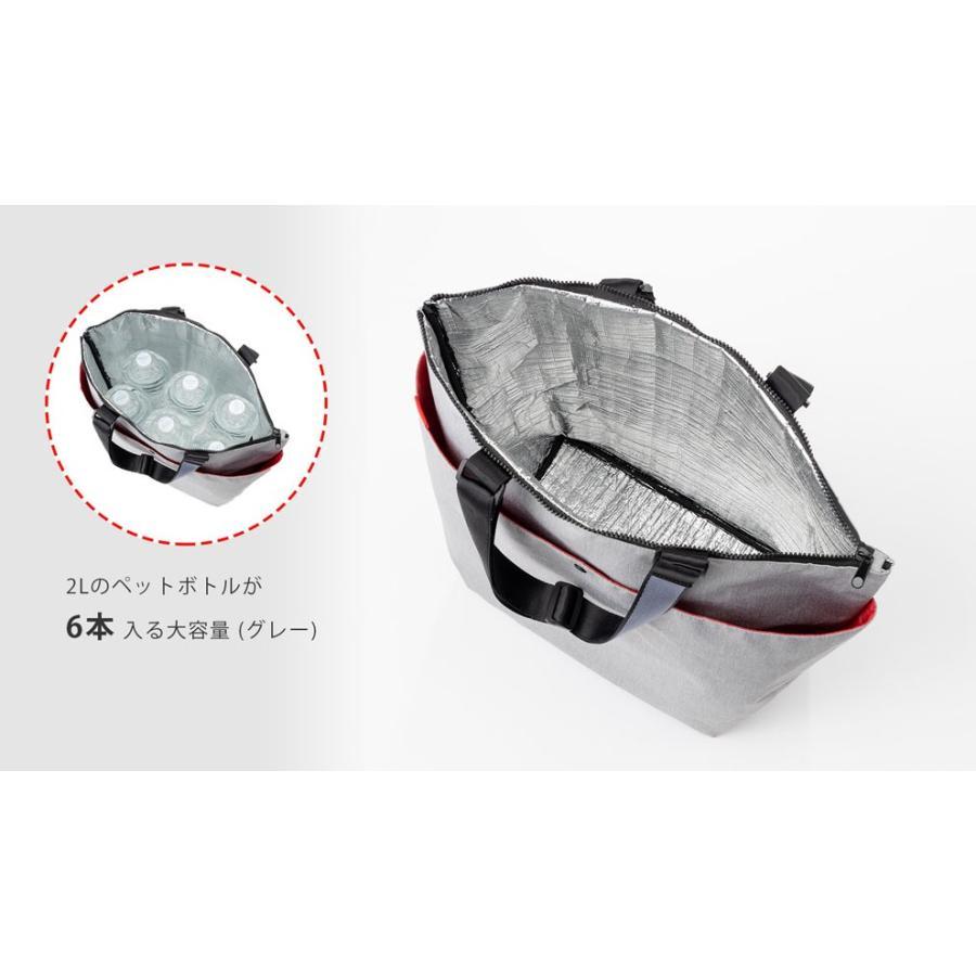 クーラーバッグ 保温・保冷どちらにも使える、トート型大容量バッグ safety-toilet 04