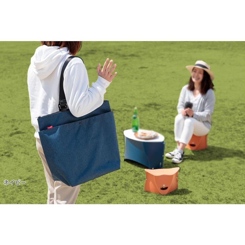 クーラーバッグ 保温・保冷どちらにも使える、トート型大容量バッグ safety-toilet 09