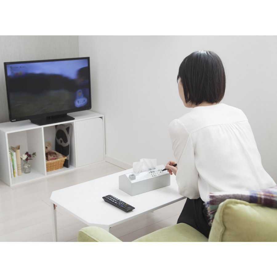 メモルティッシュケース メモ インテリア ティッシュボックス  safety-toilet 05