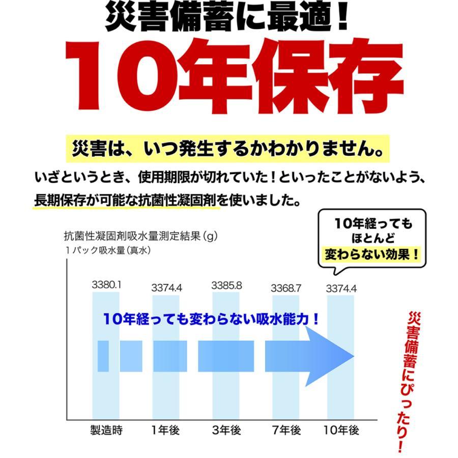 簡易トイレ 非常用トイレ SAFETY TOILET プチ 日本製 5回セット 10年保存 抗菌グレード 消臭 持ち運び袋付き 介護 備蓄 断水 防水パック 防災グッズ|safety-toilet|11