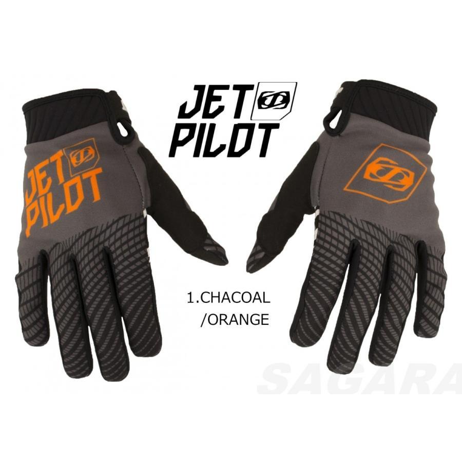 ジェットパイロット JETPILOT グローブ セール 30%オフ 送料無料 マトリックス プロ スーパーライト グローブ JA18310 スマホ可 マリン BMX 手袋|sagara-net-marine|02