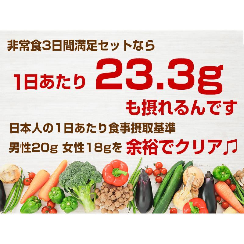 (予約販売:5月13日頃入荷予定)非常食 防災用品 5年保存 非常食セット 3日分18種類21品 非常食3日間満足セット|saibou|05
