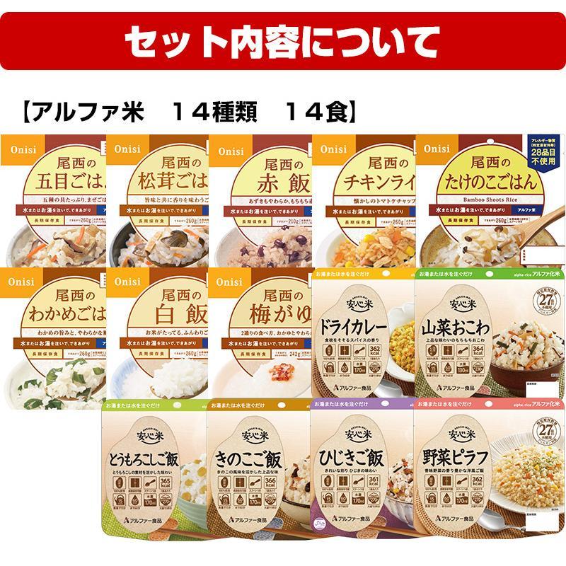 (予約商品:9月24日入荷予定)非常食 5年保存 非常食セット 18種類21食 非常食7日間基本セット|saibou|03