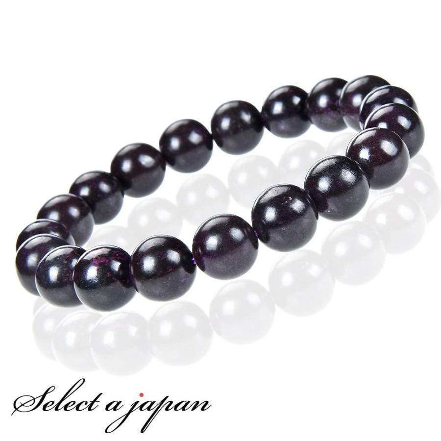 値段が激安 「1点もの 現品」 スギライト ブレスレット 11mm パワーストーン ブレスレット メンズ レディース 天然石 数珠, コロンディー fead1067