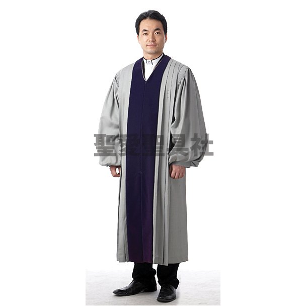 牧師ガウン G-B01-012 牧師用ガウン 教会衣装