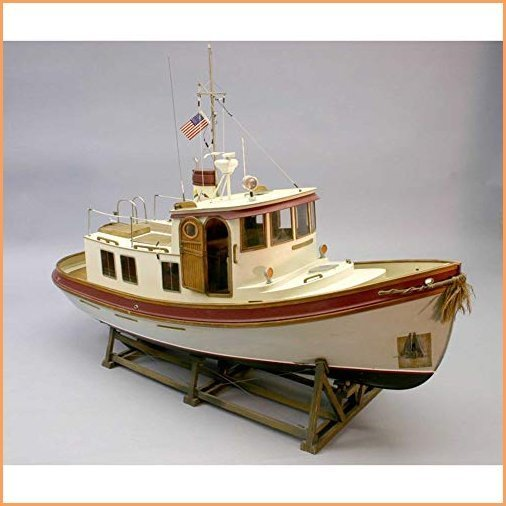 """Dumas Products, Inc. 1/16 The Lord Nelson Victory Tug Boat Kit, 28"""", DUM1225"""