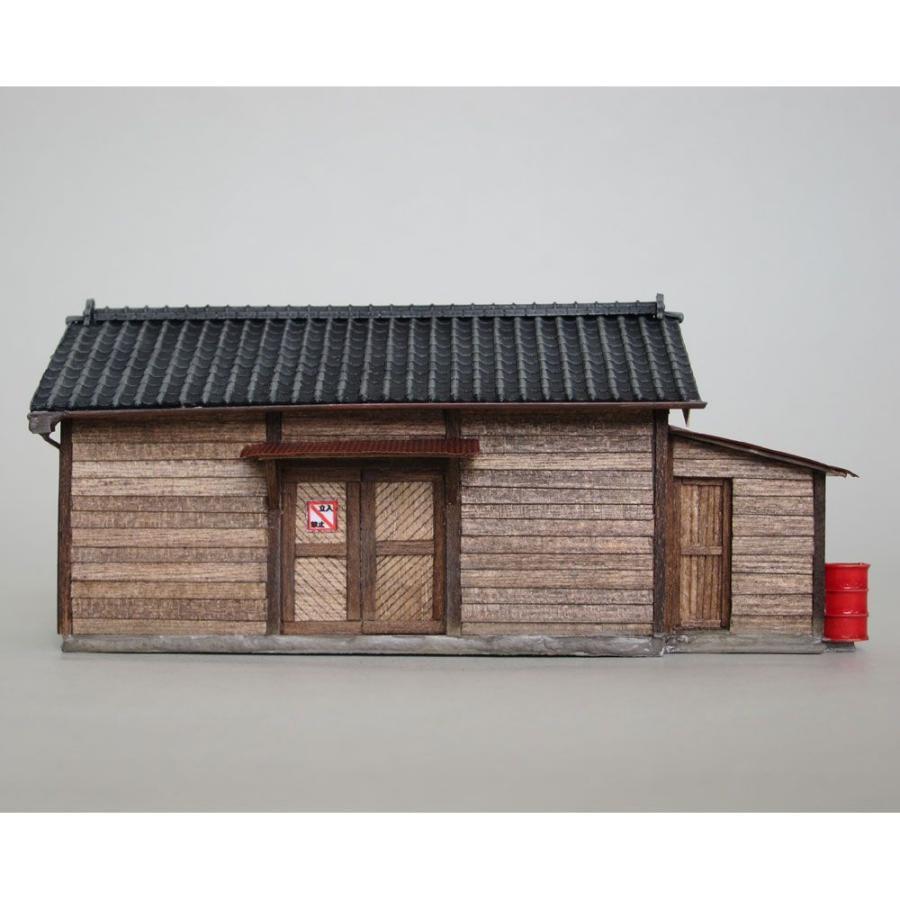 小さな倉庫(瓦屋根) :匠ジオラマ工芸舎 塗装済完成品 HO(1/80) 1005 ...