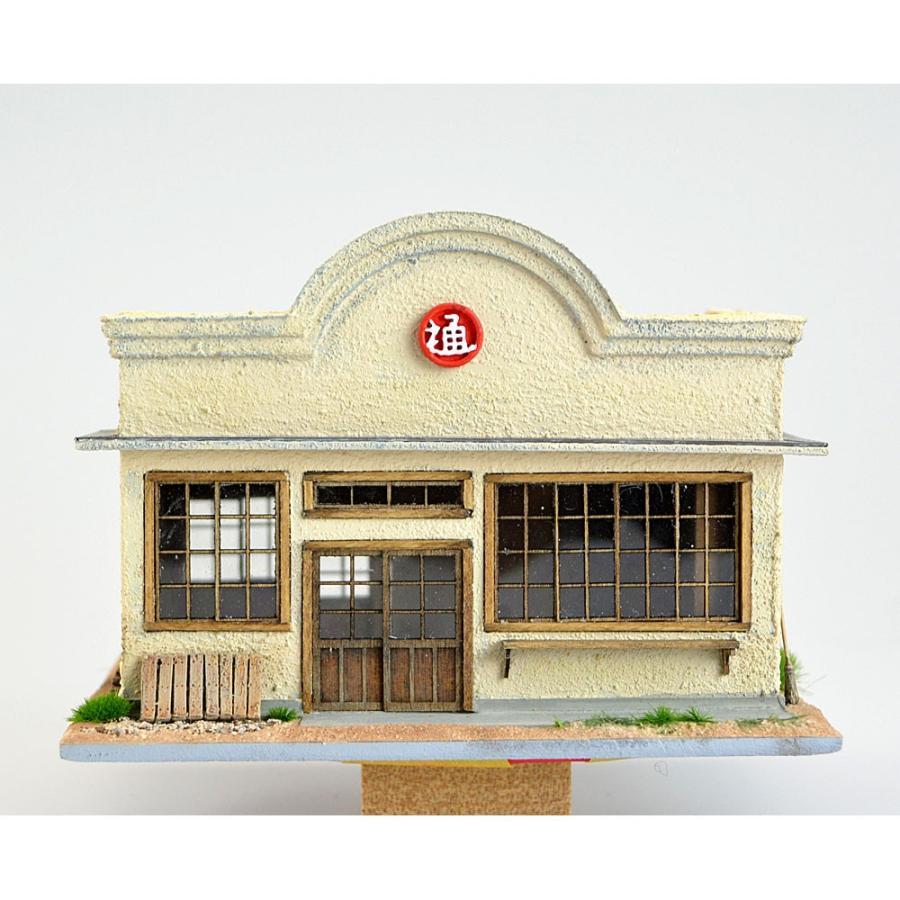 日通荷受け所看板建築タイプ :匠ジオラマ工芸舎 塗装済完成品 HO(1/80) 1043