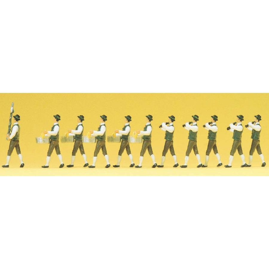バイエルンの祭りの音楽隊 :プライザー 塗装済完成品 HO(1/87) 24602