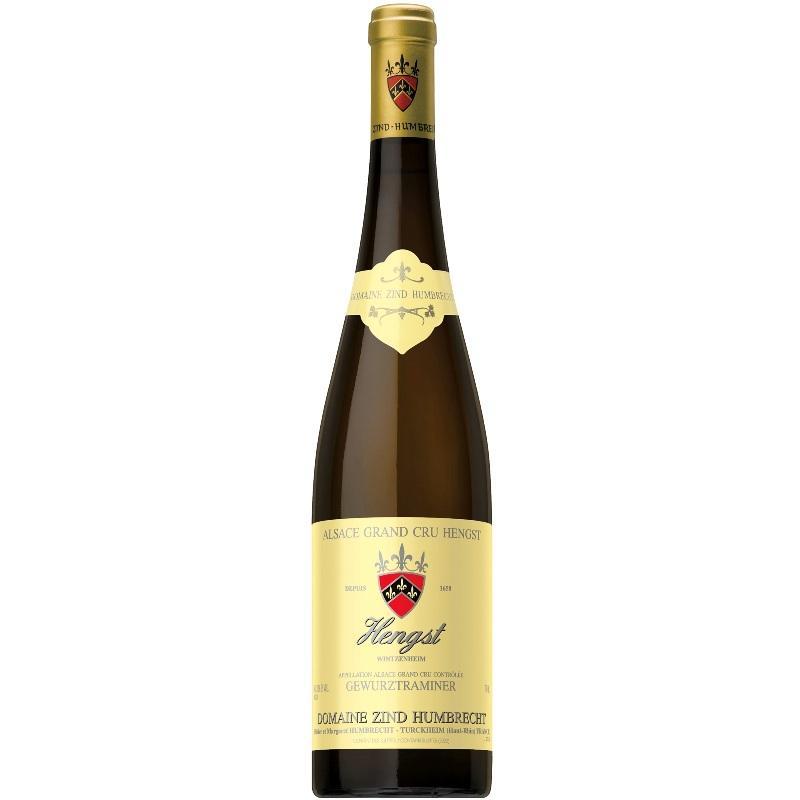 ドメーヌ ツィント フンブレヒト ゲヴュルツトラミネール ヘングスト グラン クリュ 2015 750ml ワイン