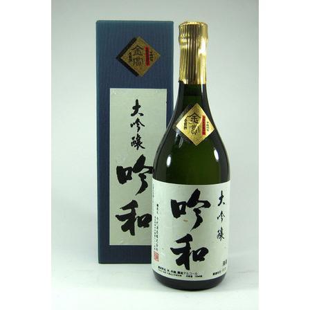 千代酒造 千代 吟和 大吟醸 金賞受賞酒(奈良県) 720ml