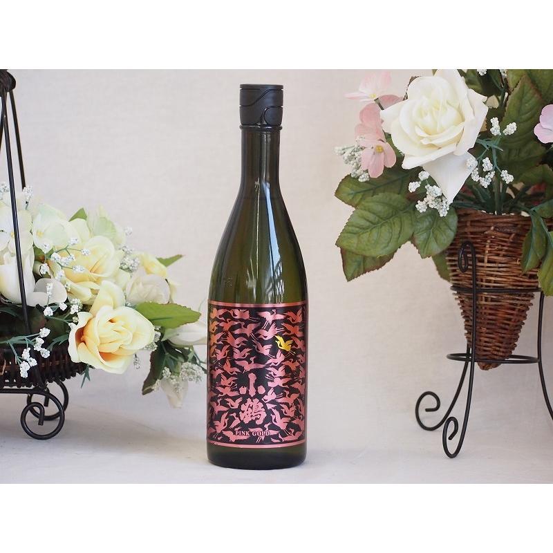 優雅なリンゴのようなフレッシュな香り シャンパン酵母使用 小鶴PINK GOLD(鹿児島県)900ml×1 sake-gets