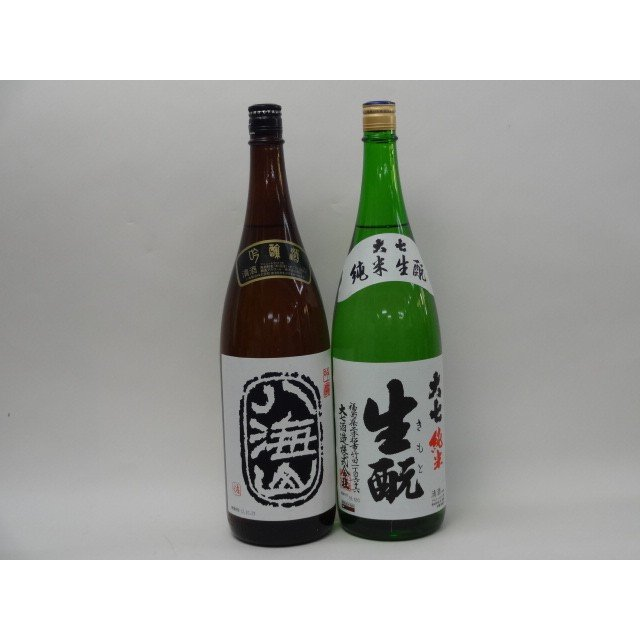 特選日本酒セット 八海山 大七 スペシャル2本セット(吟醸 純米)1800ml×2本