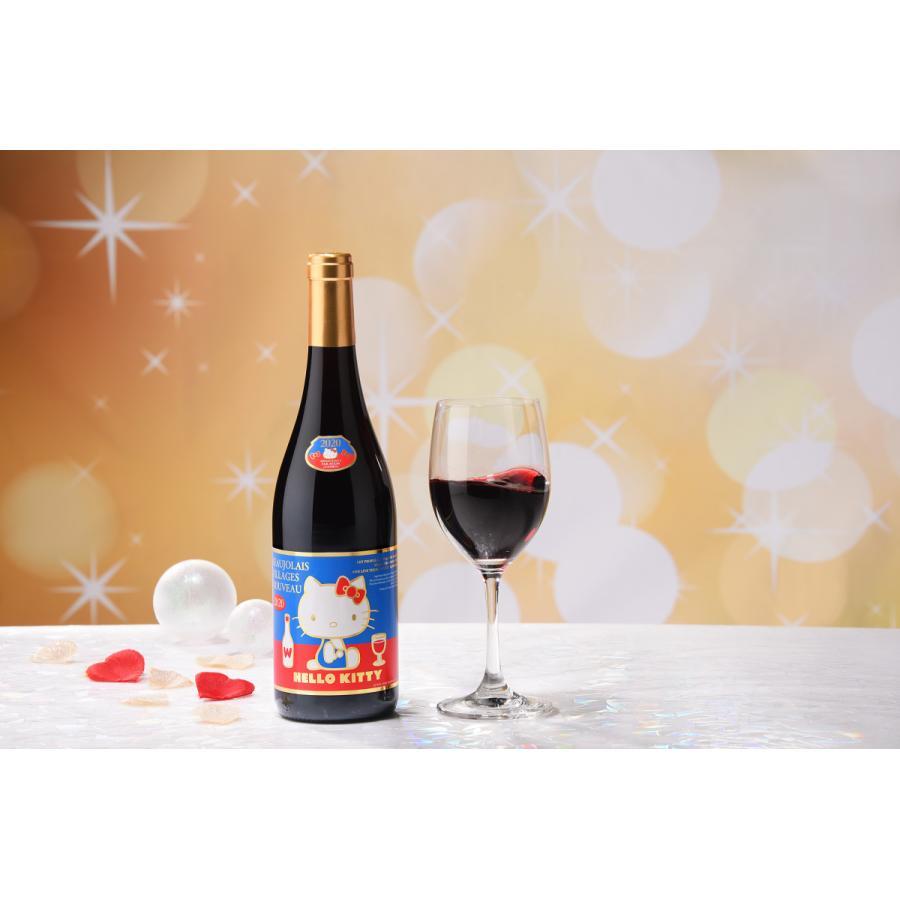 2020年解禁 ラストハローキティー ボージョレ・ヴィラージュ・ヌーヴォー赤ワイン750ml(ボジョレヌーボ)盛田甲州ワイナリー|sake-gets|02