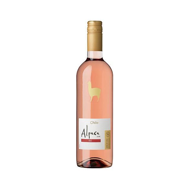 アルパカ・ロゼのボトル