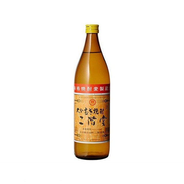 二階堂 麦焼酎 25度 900ml|sake-hunter