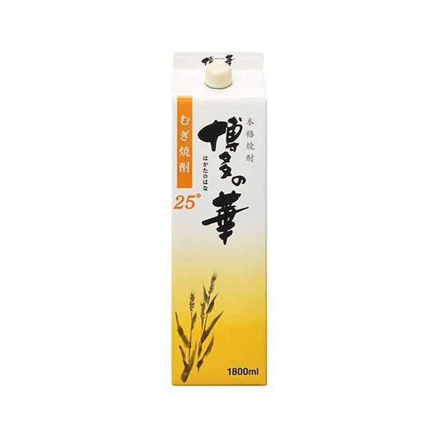 博多の華 麦焼酎 25度 1800mlパック sake-hunter