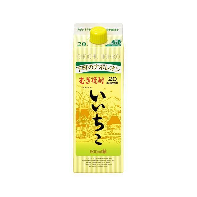 いいちこ 麦焼酎 20度 900mlパック|sake-hunter