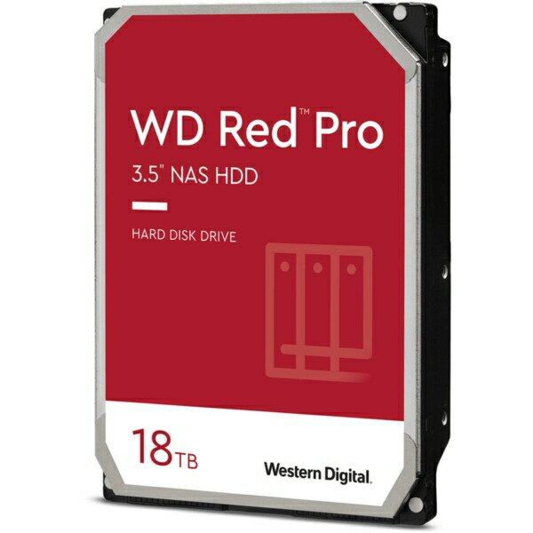 WESTERN DIGITAL WD181KFGX-R 3.5インチ内蔵ハードディスクドライブ(18TB·SATA600·7200rpm)