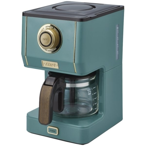 Toffy アロマドリップコーヒーメーカー スレートグリーン K-CM5-SG|sake-premoa