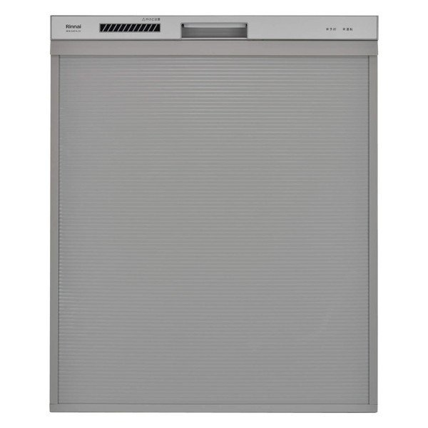 Rinnai RSW-SD401A-SV シルバー 食器洗い乾燥機(ビルトイン 深型スライドオープンタイプ 6人用)