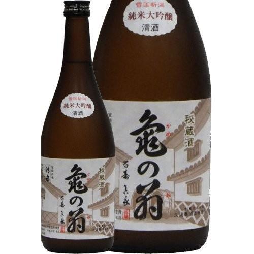 清泉 亀の翁 純米大吟醸 秘蔵古酒(8年熟成)720ml|sake-yamato