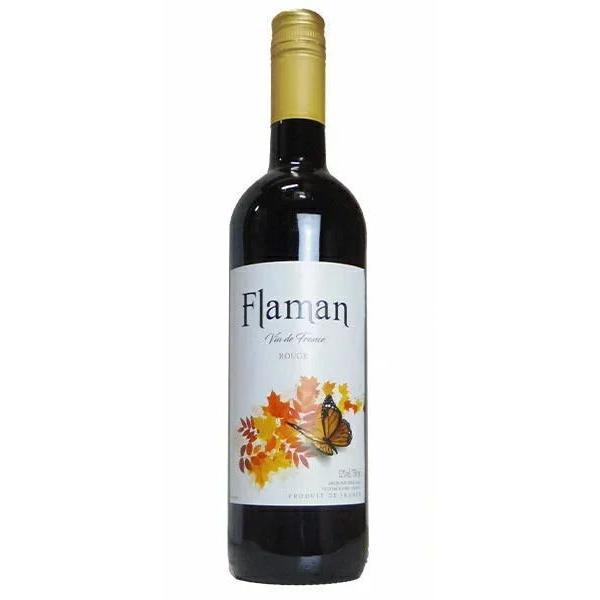 [ワイン]24本まで同梱可 フラマン ルージュ(赤)750ml 1本(750ml フランス)日本酒類販売|sakemakino