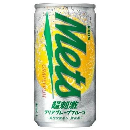 [飲料]4ケースまで同梱可 キリン メッツ 超刺激クリアグレープフルーツ 190缶 1ケース20本入り(190ml)(強炭酸)(Mets)KIRIN sakemakino