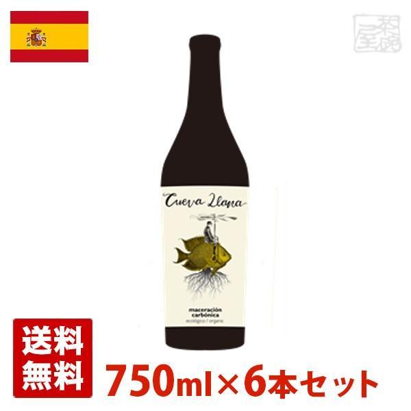 クエバジャナ マセラシオンカルボニカ (ヌエボ) 750ml 6本セット 赤ワイン スペイン 送料無料