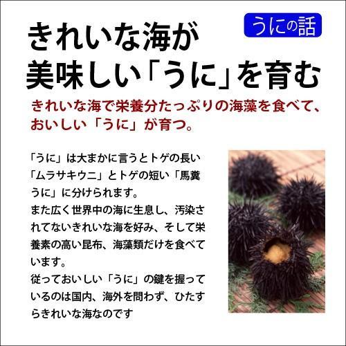 業務用粒うに200g(バフンウニ)|sakenosakana|03